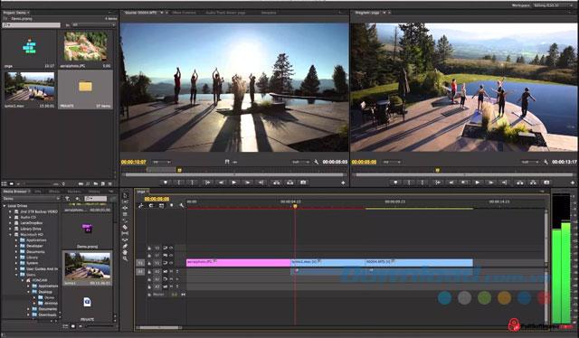 Phần mềm tạo video chuyên nghiệp Adobe Premiere Pro CC