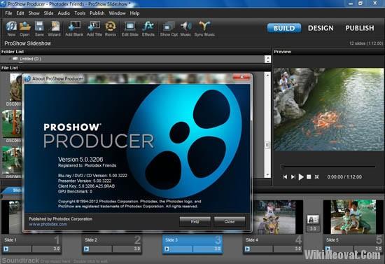 phần mềm chỉnh sửa video Proshow Producer