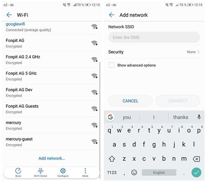 giải quyết lỗi wifi